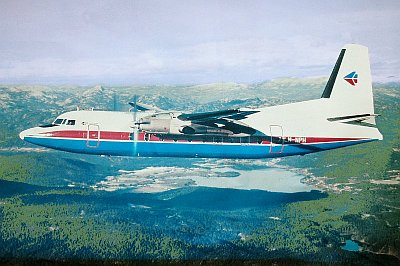 Fokker F-27 'Friendship' - Malmi 1979